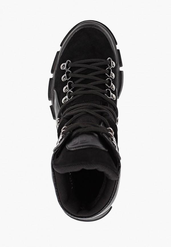 Фото 4 - женские ботинки и полуботинки Gene черного цвета