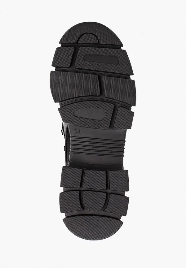 Фото 5 - женские ботинки и полуботинки Gene черного цвета