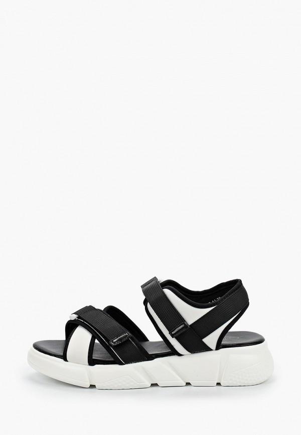 женские сандалии gene, черные