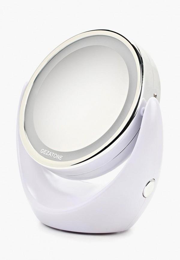 Зеркало Gezatone Косметическое с 5х увеличением и подсветкой