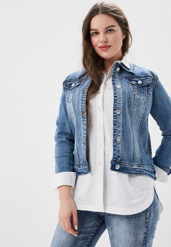 Купить Куртка джинсовая G&G, gg001ewatmk7, синий, Весна-лето 2018