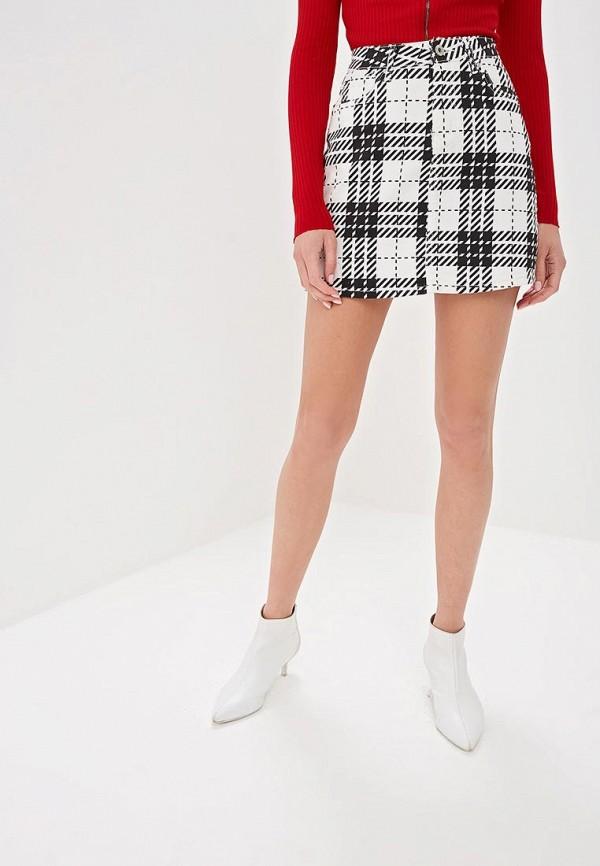 женская прямые юбка g&g, белая