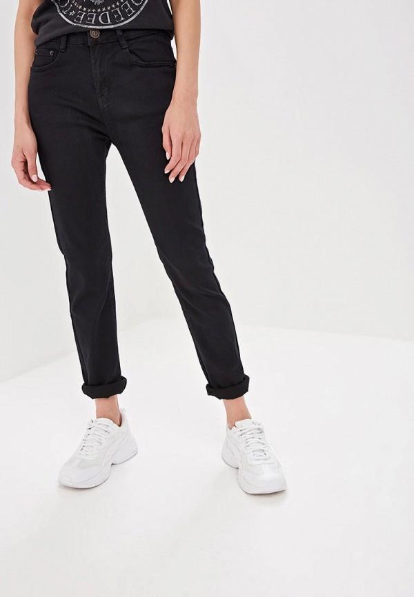 женские прямые джинсы g&g, черные