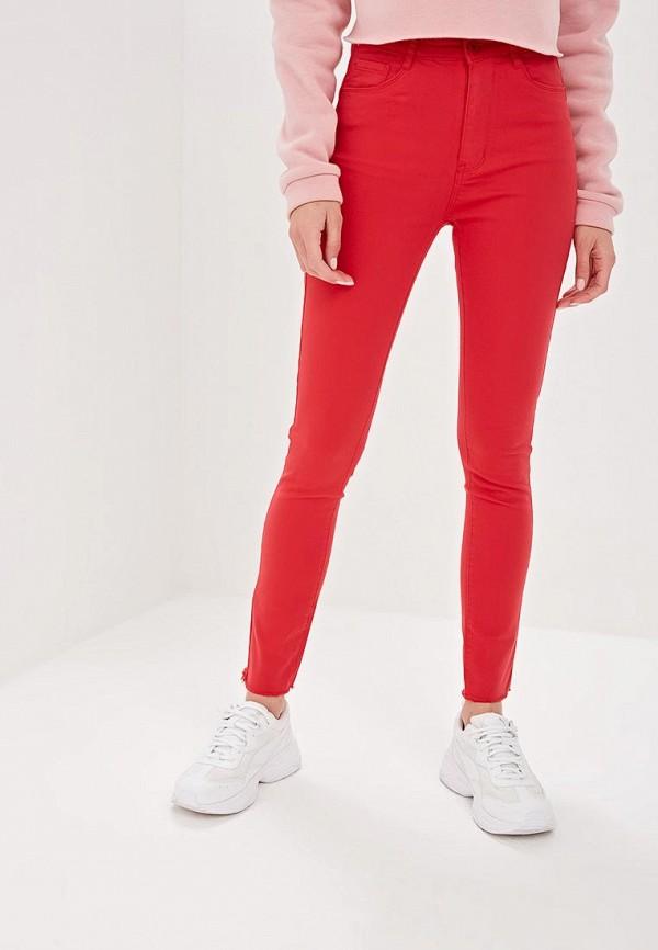 женские повседневные брюки g&g, красные