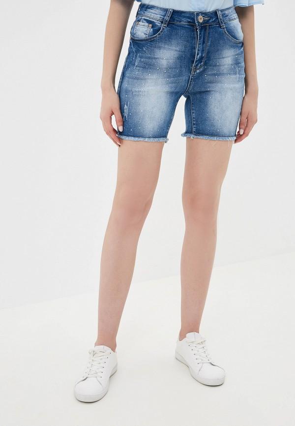 женские шорты g&g, синие