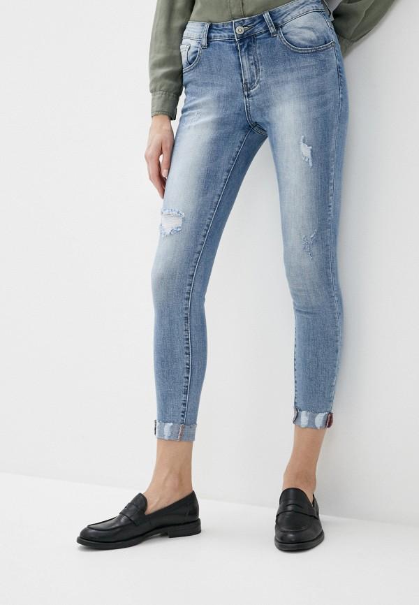 женские джинсы g&g, голубые