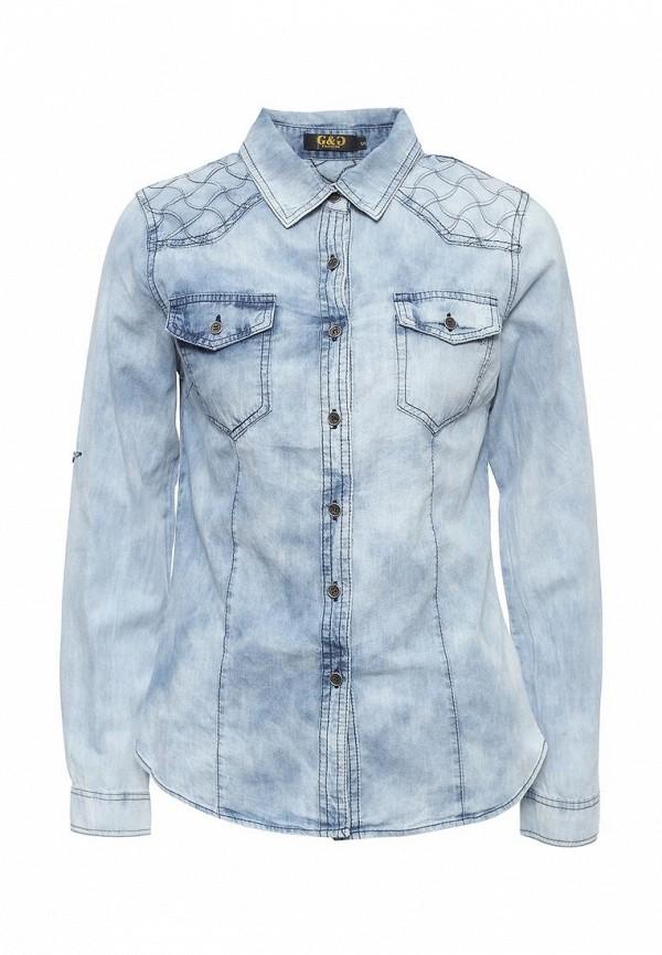 Рубашка джинсовая G&G G&G GG001EWRCI80