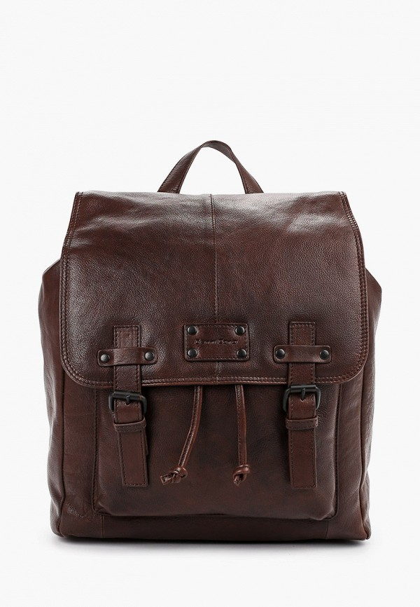 мужской рюкзак gianni conti, коричневый