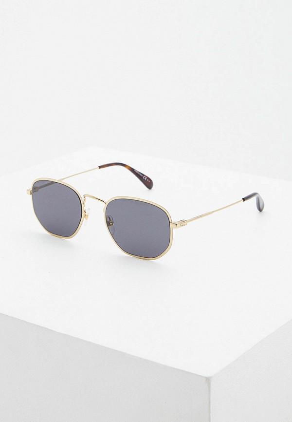 мужские солнцезащитные очки givenchy, золотые