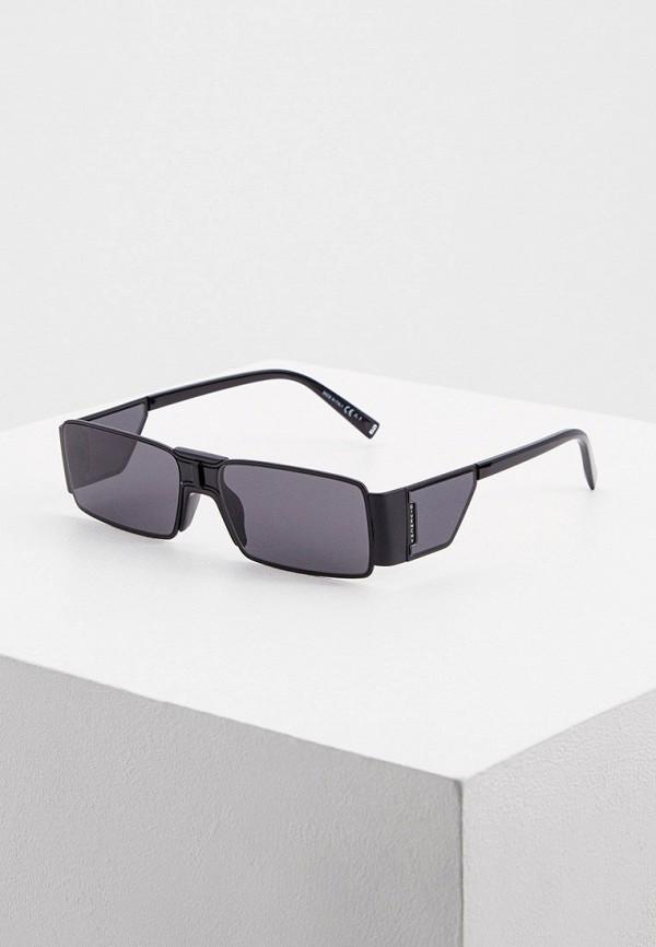 женские квадратные солнцезащитные очки givenchy, черные