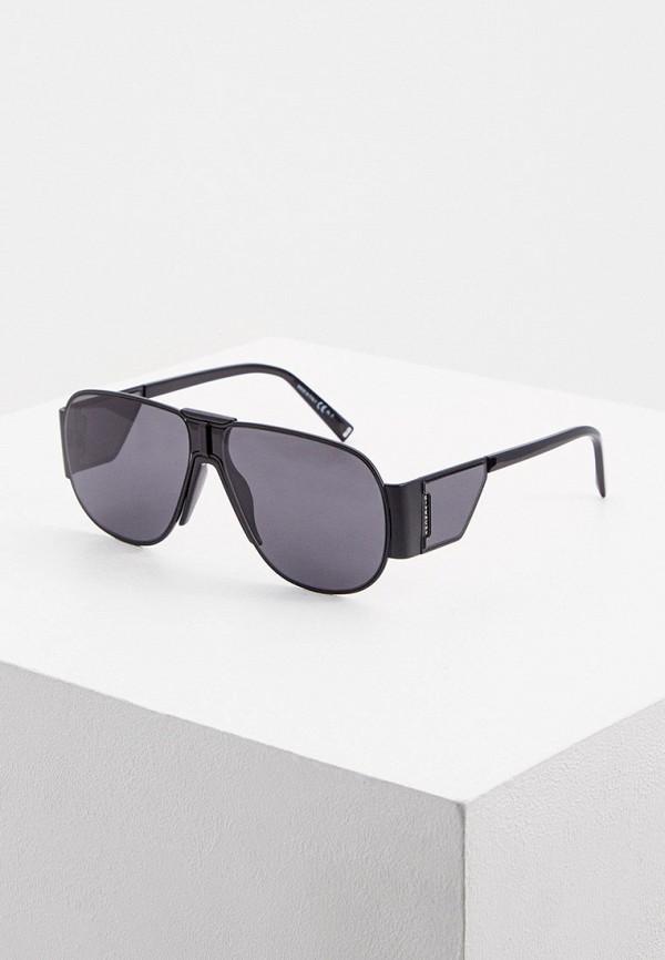 женские авиаторы солнцезащитные очки givenchy, черные