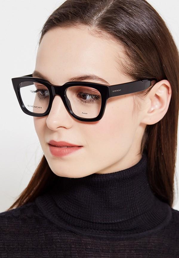 Фото 19 - Оправа Givenchy черного цвета