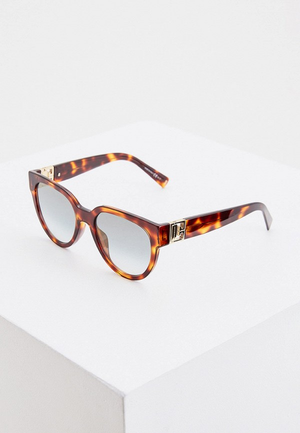 женские солнцезащитные очки givenchy, коричневые