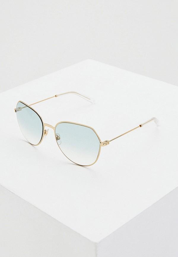 женские солнцезащитные очки givenchy, голубые
