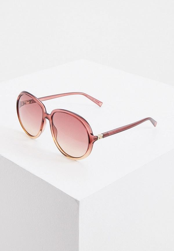 женские круглые солнцезащитные очки givenchy, разноцветные
