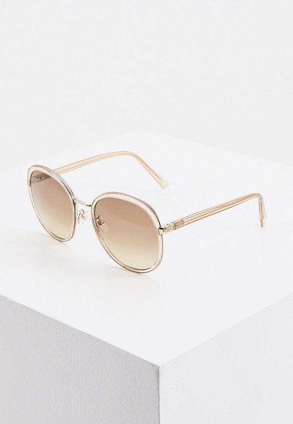 женские круглые солнцезащитные очки givenchy, желтые