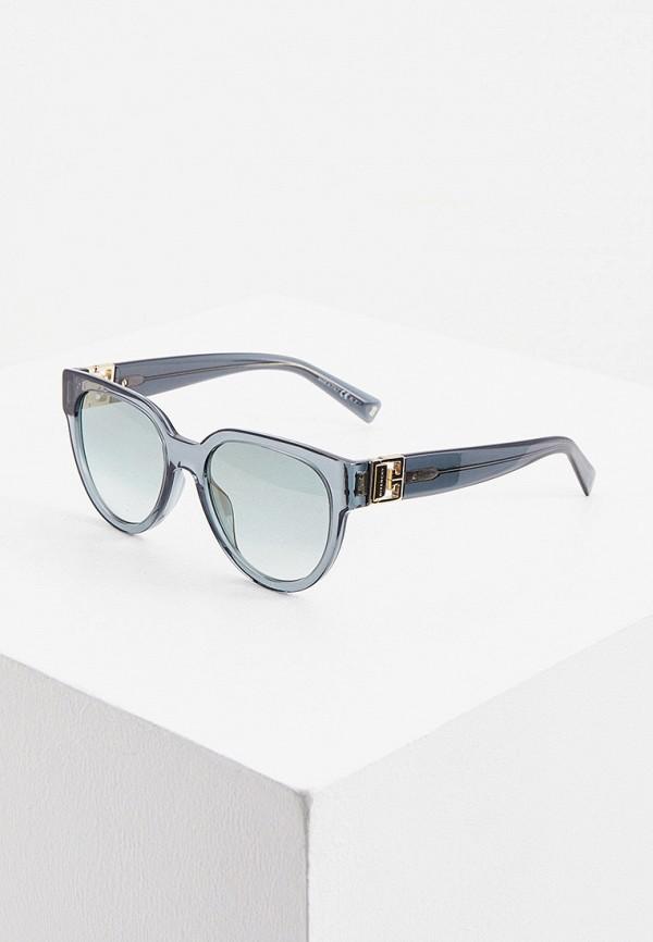 женские солнцезащитные очки givenchy, бирюзовые