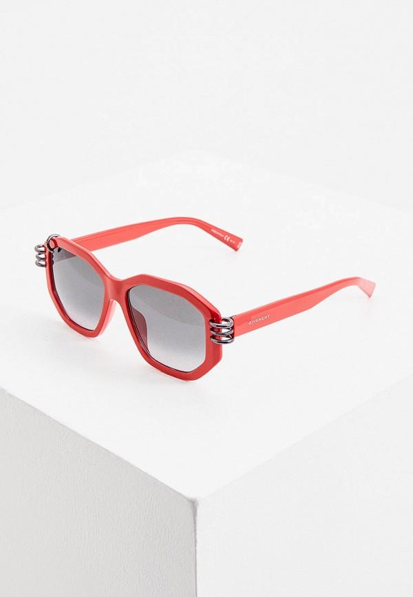 женские солнцезащитные очки givenchy, красные