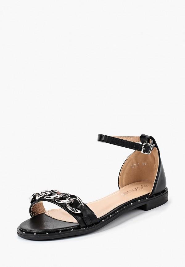 женские сандалии girlhood, черные