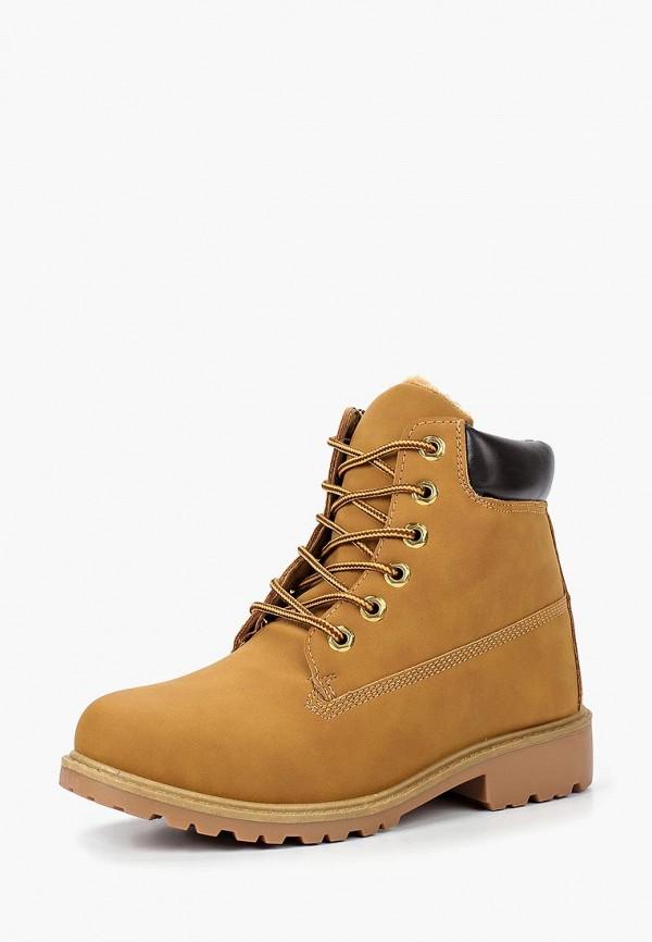 Купить Ботинки Girlhood, GI021AWCAGB8, коричневый, Осень-зима 2018/2019