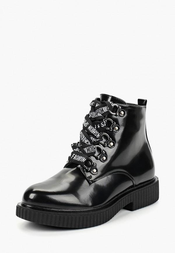 Купить Ботинки Girlhood, gi021awcyro6, черный, Осень-зима 2018/2019