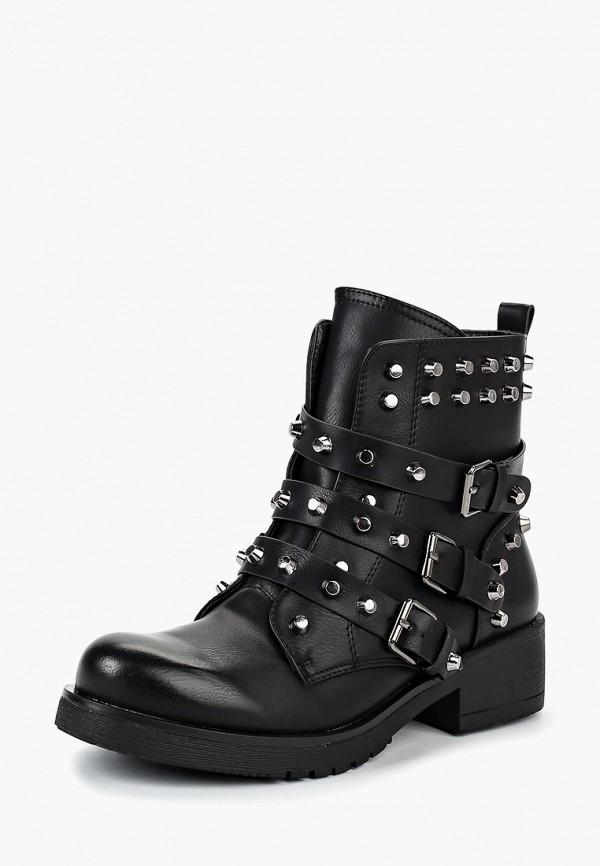 Купить Ботинки Girlhood, gi021awdanq2, черный, Осень-зима 2018/2019