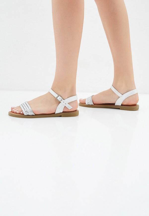 Фото 6 - женские сандали Girlhood серебрянного цвета