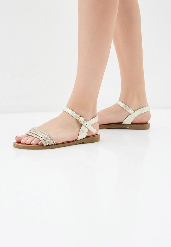 Фото 6 - женские сандали Girlhood золотого цвета