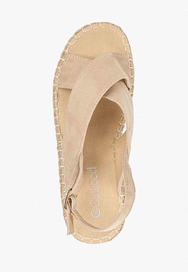 Фото 4 - женские сандали Girlhood бежевого цвета