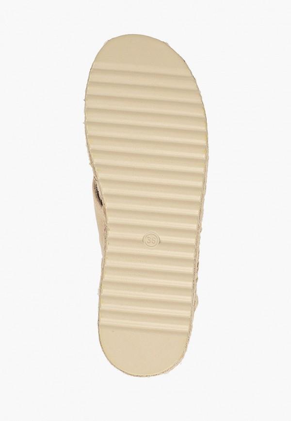 Фото 5 - женские сандали Girlhood бежевого цвета