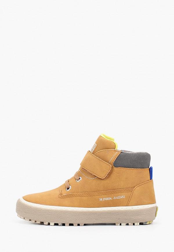 ботинки gioseppo для мальчика, коричневые