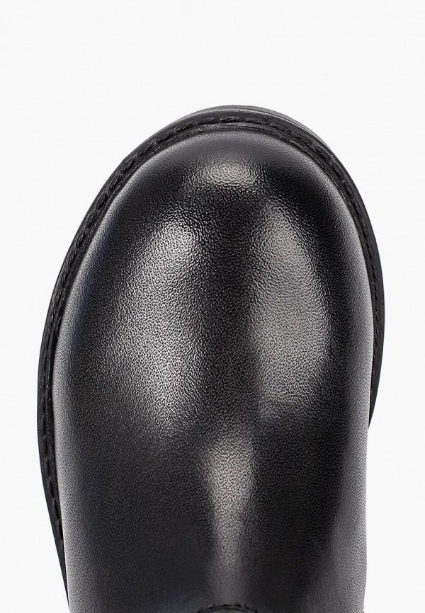 Фото 4 - Женские сапоги Gioseppo черного цвета