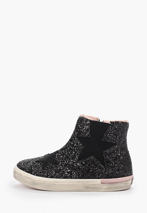 ботинки gioseppo для девочки, черные