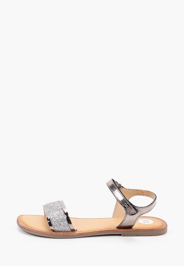 сандалии gioseppo для девочки, серебряные