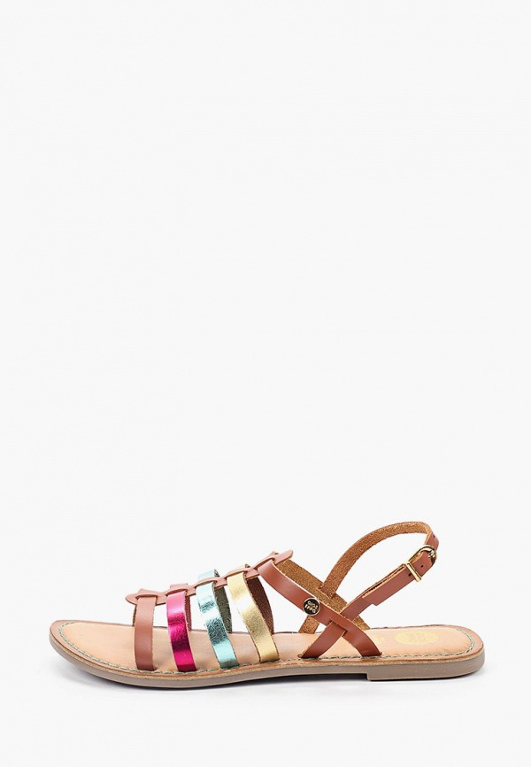 сандалии gioseppo для девочки, коричневые