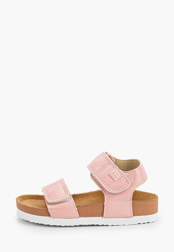 сандалии gioseppo для девочки, розовые