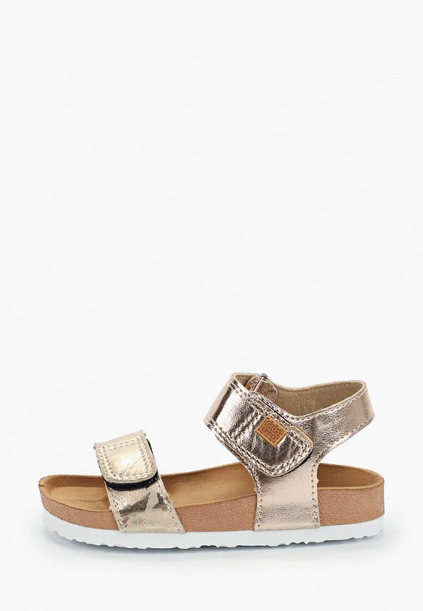 сандалии gioseppo для девочки, золотые
