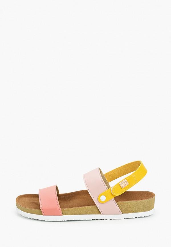 сандалии gioseppo для девочки, разноцветные