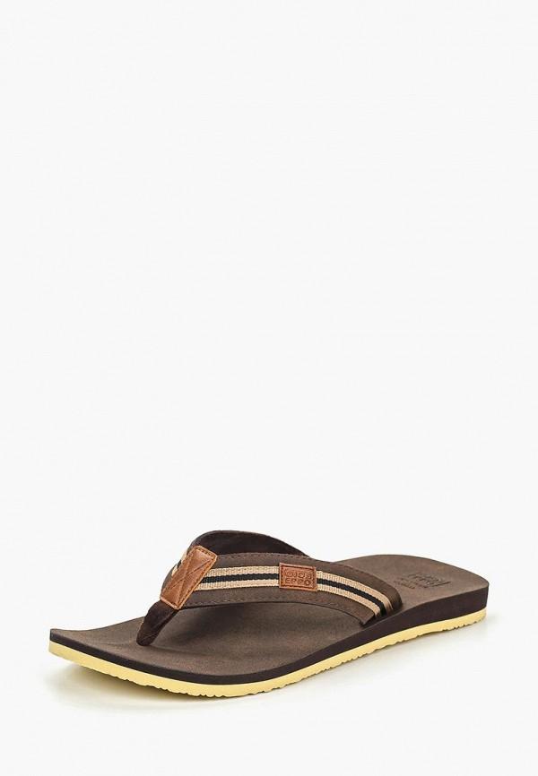 Фото 2 - мужские сандали Gioseppo коричневого цвета