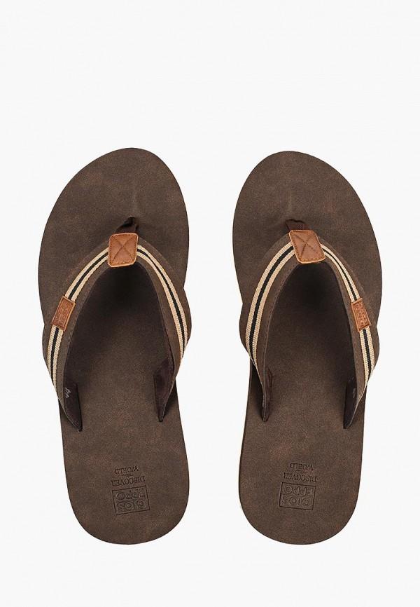 Фото 4 - мужские сандали Gioseppo коричневого цвета