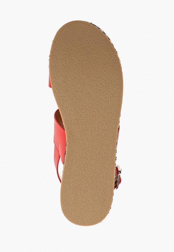 Фото 5 - Женские босоножки Gioseppo красного цвета