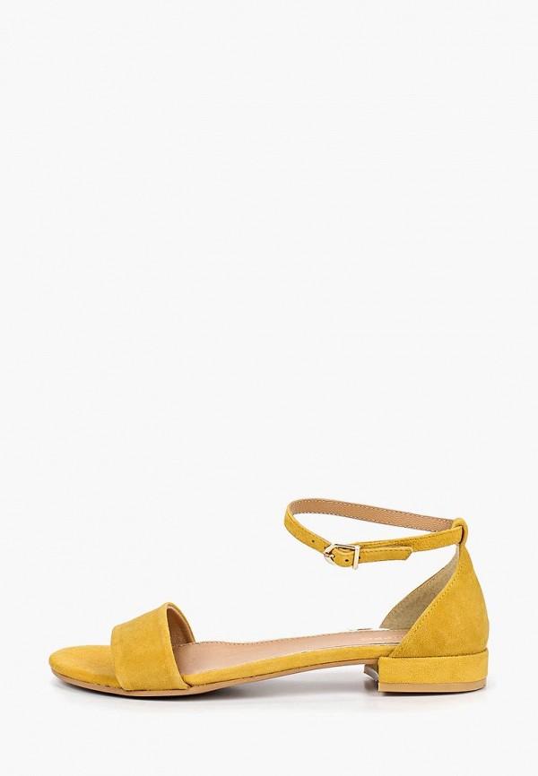 женские сандалии gioseppo, желтые