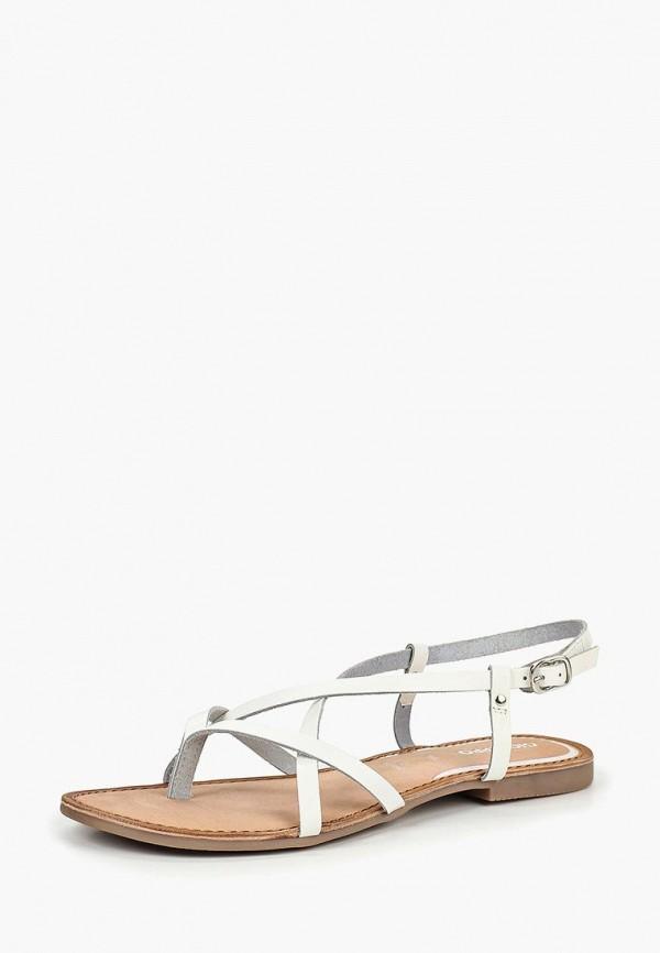 Фото 2 - женские сандали Gioseppo белого цвета