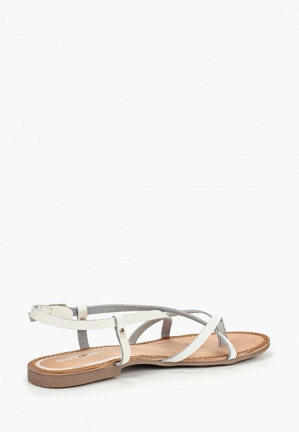 Фото 3 - женские сандали Gioseppo белого цвета