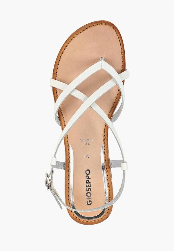 Фото 4 - женские сандали Gioseppo белого цвета