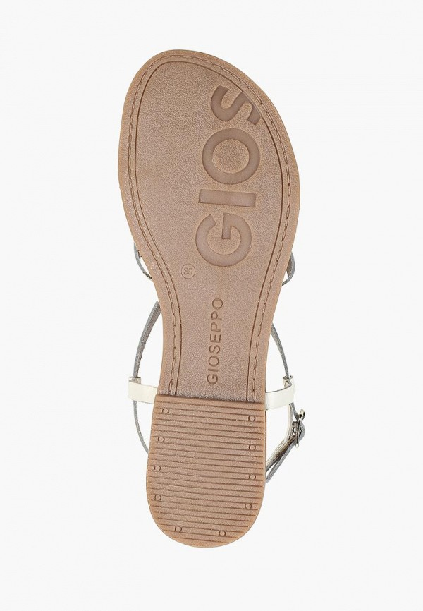 Фото 5 - женские сандали Gioseppo белого цвета