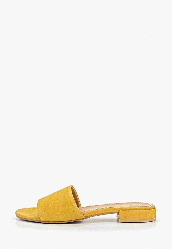 женское сабо gioseppo, желтое