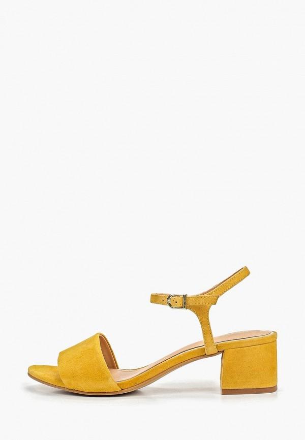 женские босоножки gioseppo, желтые