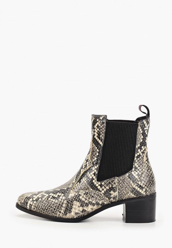 женские ботинки gioseppo, бежевые