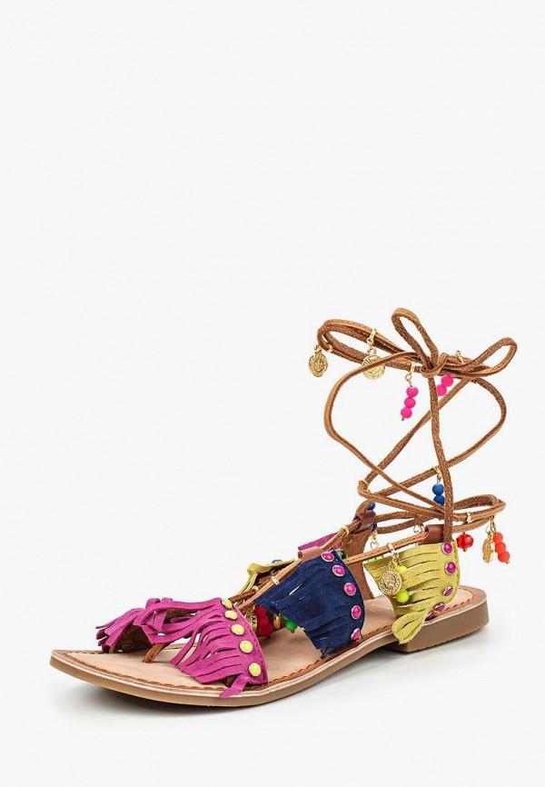 Купить Сандалии Gioseppo, gi022awhqj27, разноцветный, Весна-лето 2016